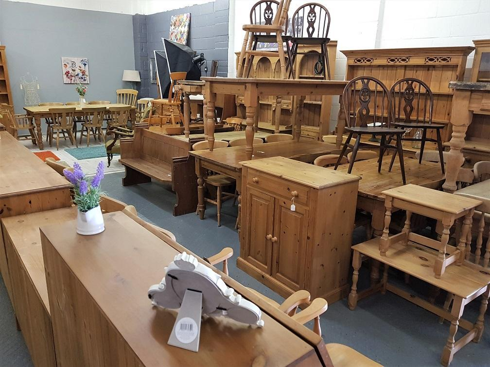 Quality second hand pine furniture
